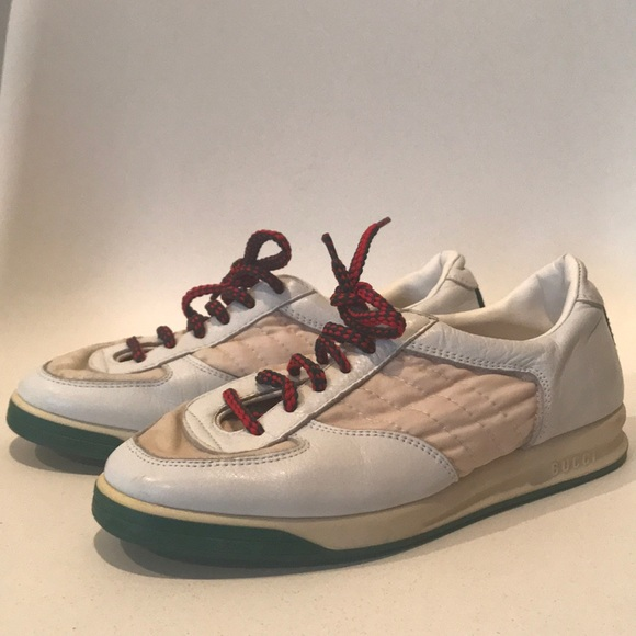 e7d9b75d49e Gucci Shoes - Vintage Gucci Sneakers in amazing condition w box